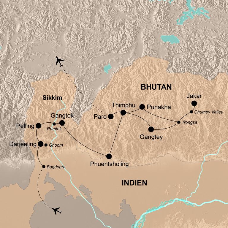 Bhutan mit Darjeeling und Sikkim – Im Banne des Drachen