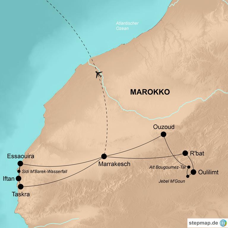 Marokko – Die Abenteuerreise mit M'Goun