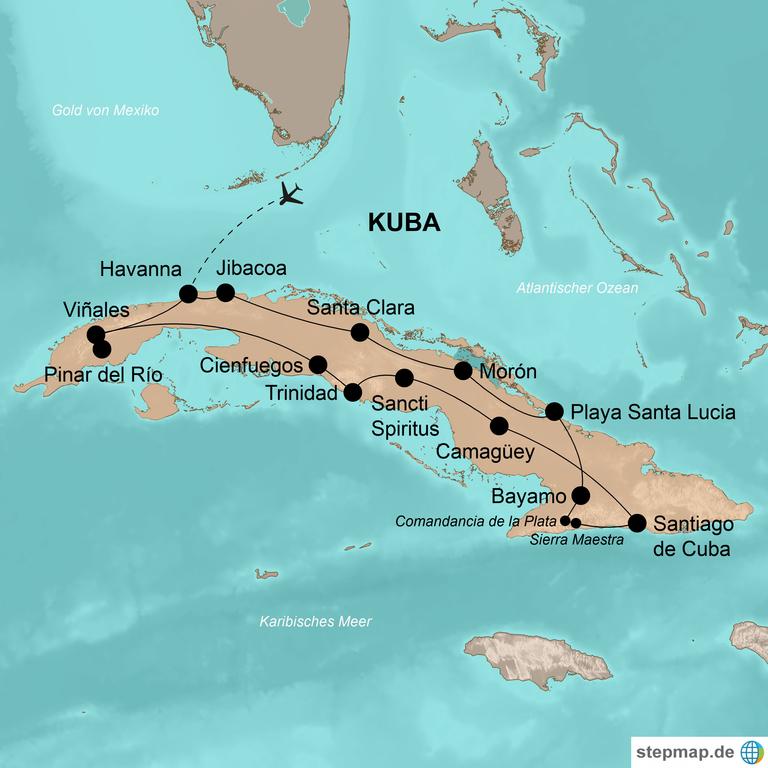 Kuba – Die Karibikinsel authentisch und flexibel erleben