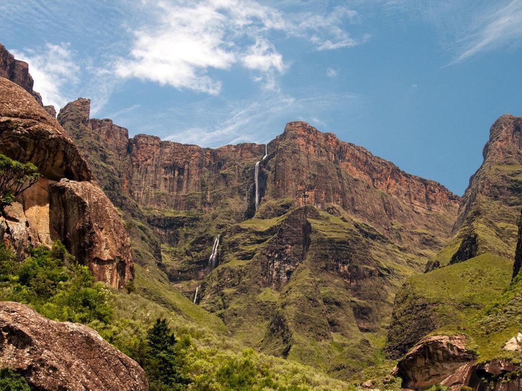 Drakensberge: Wanderung durch die Bergwelt