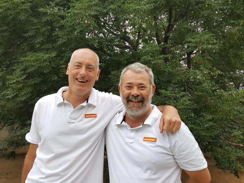 Unser Team im südlichen Afrika mit Oli und Harald