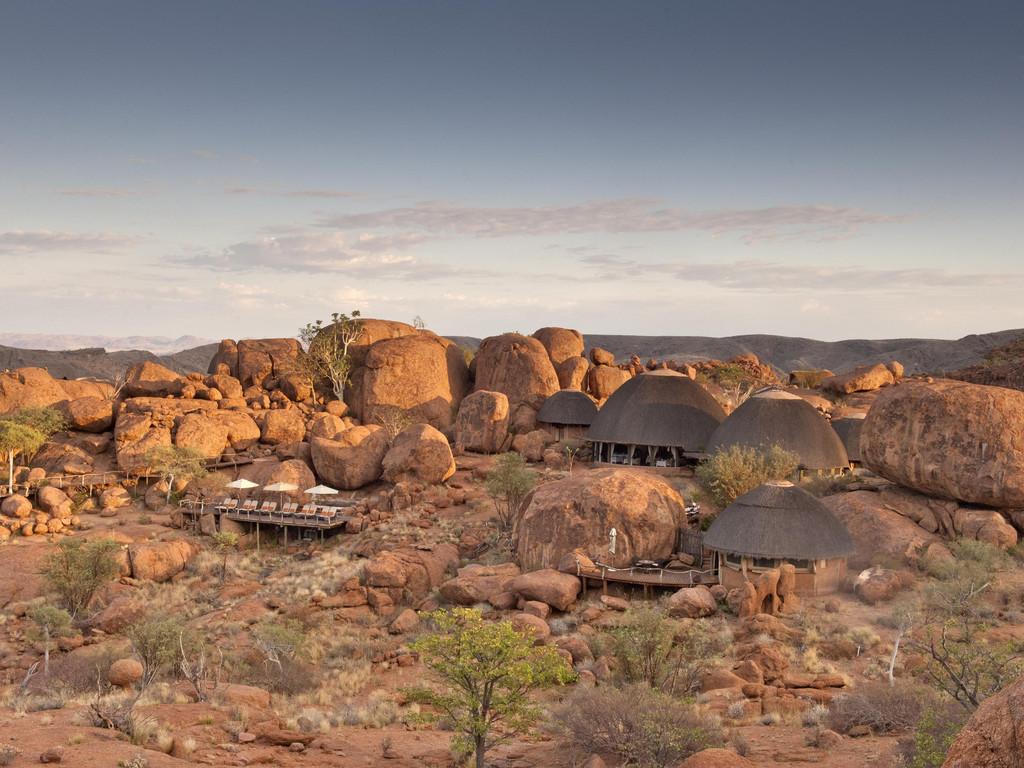 Mowani Mountain Camp ****(*) bei Twyfelfontein