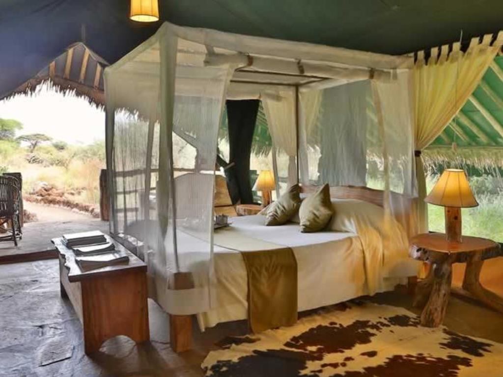 Kibo Safari Tented Camp ***(*) am Amboseli-Nationalpark