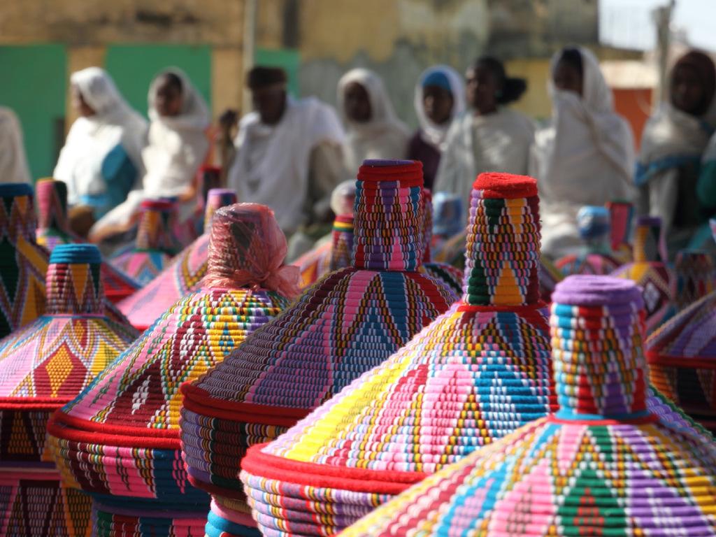 Axum : Stadterkundung und Besuch des Stelenparks und der Kathedrale Maryam Sion