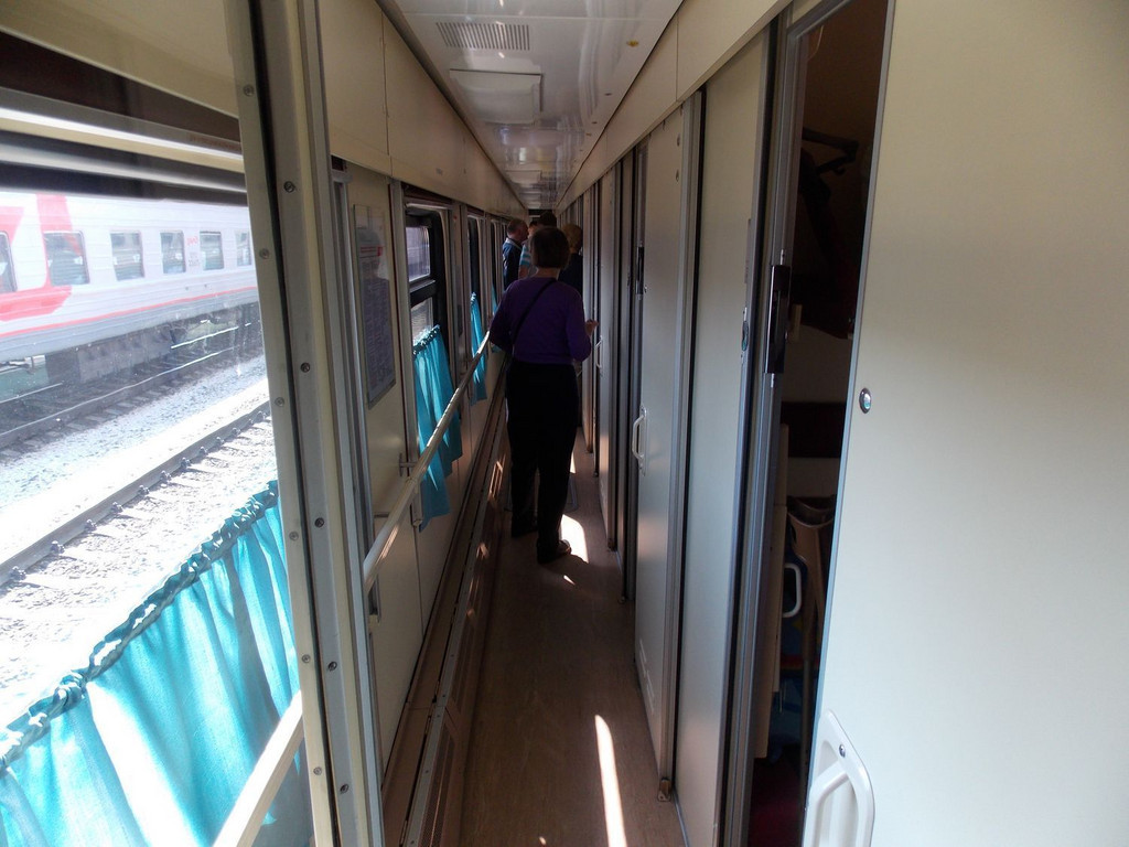 Beispiel Züge Transsibirische Eisenbahn