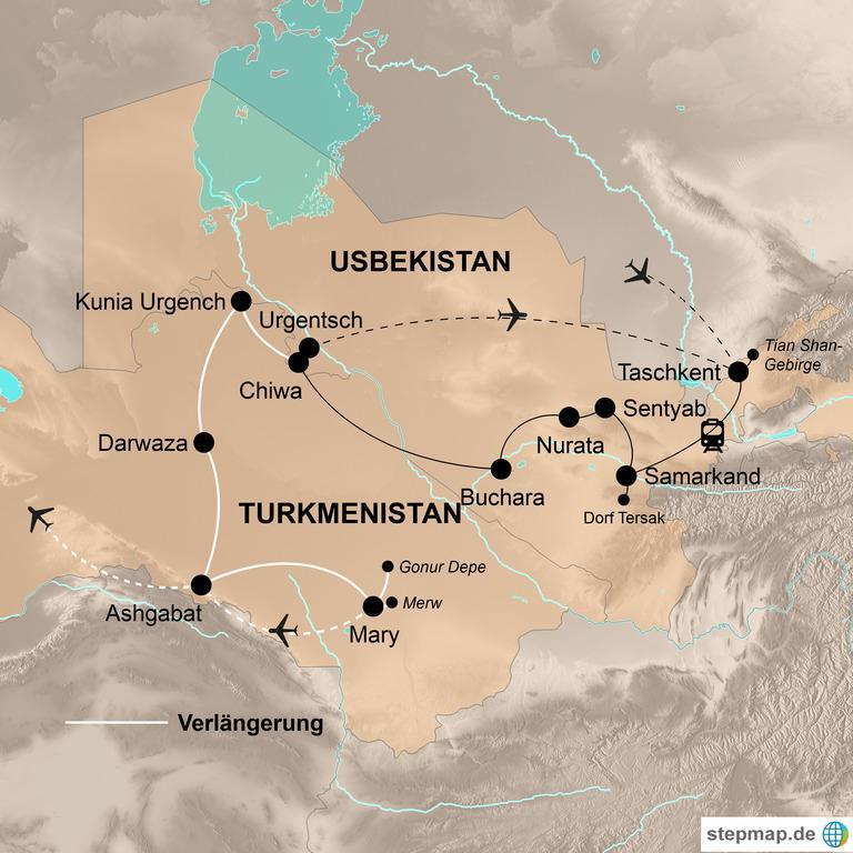 Usbekistan – Marmor, Mosaike, Medresen