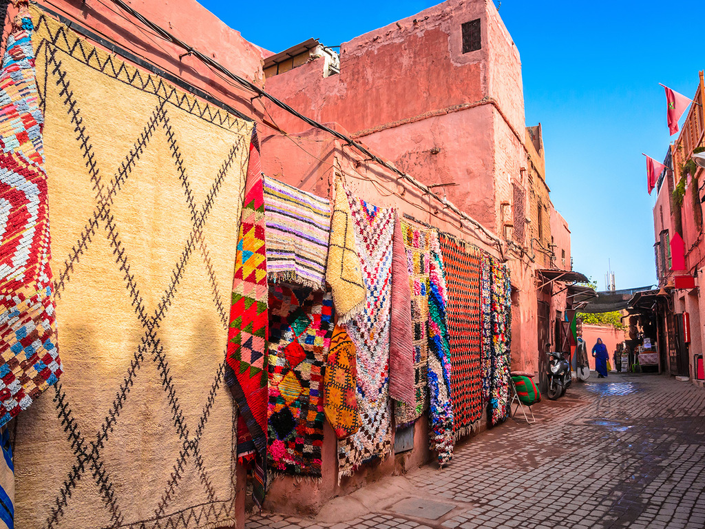 Marrakesch: Stadtbesichtigung, Djemaa el Fna-Platz