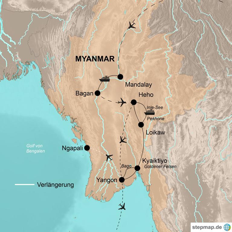 Myanmar – Märchenhaftes Myanmar