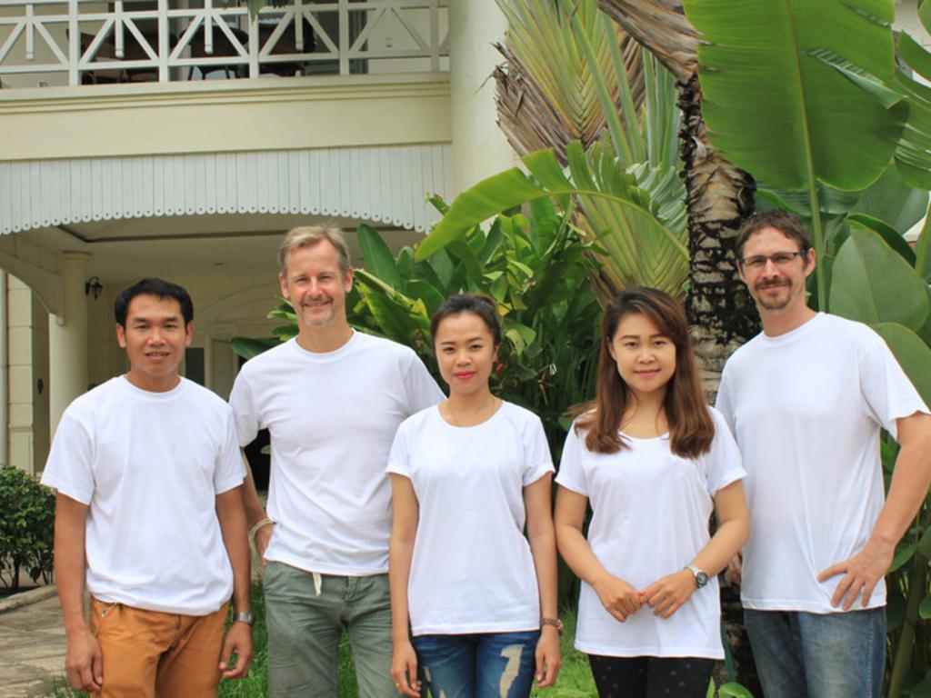 Unser Team in Laos