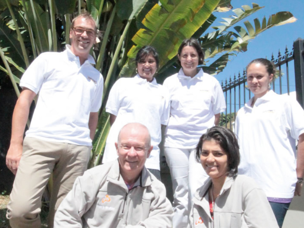 Unser Team in La Réunion