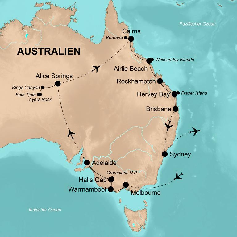 Australien – Das große Abenteuer in Down Under