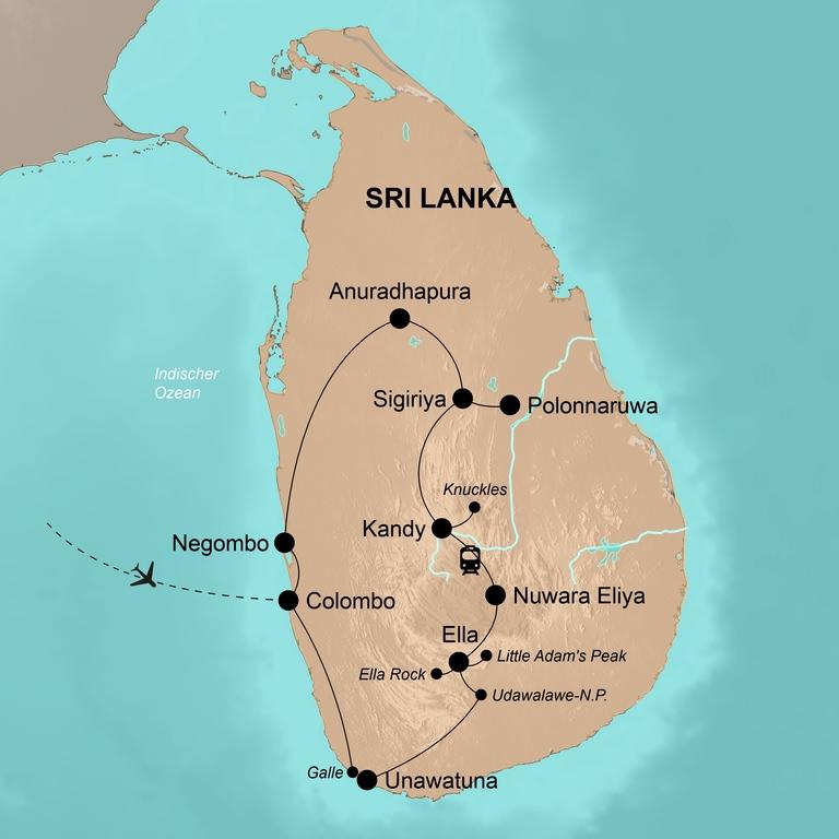 Sri Lanka – Die Höhepunkte einer Trauminsel