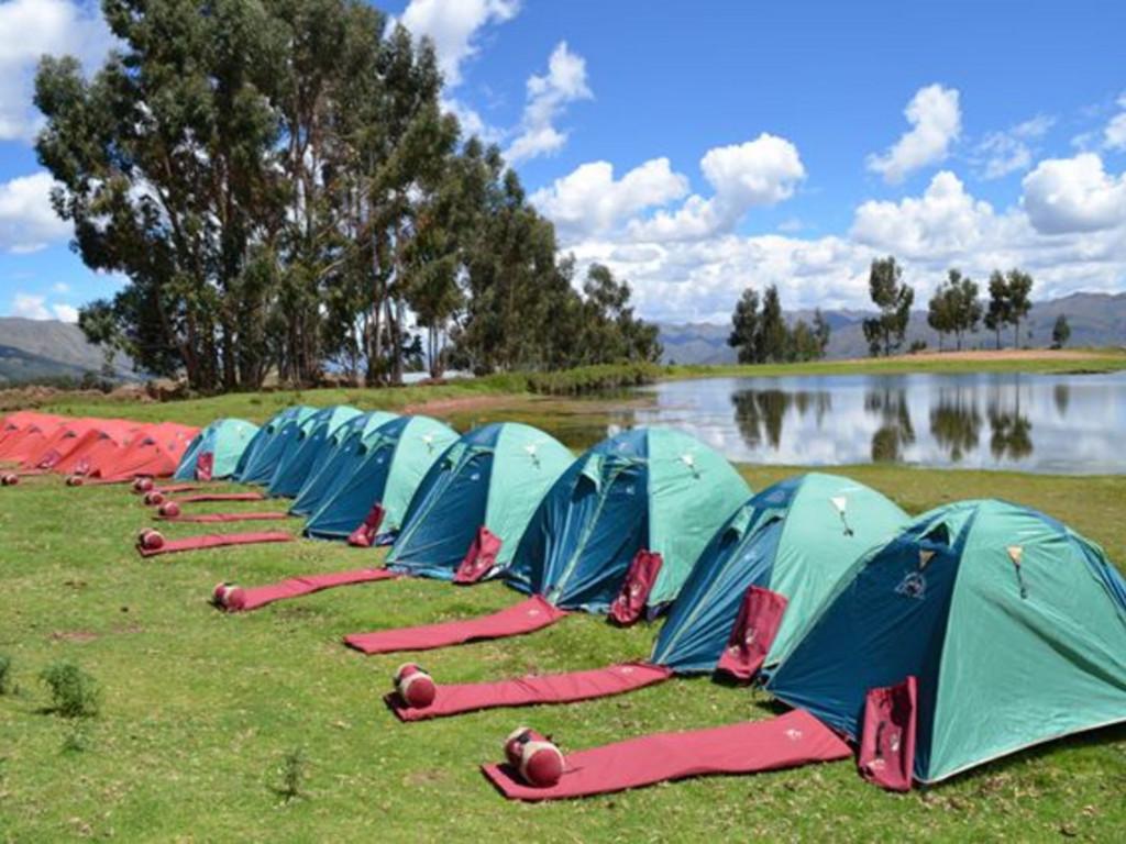 Zeltübernachtung auf dem Inka Trail
