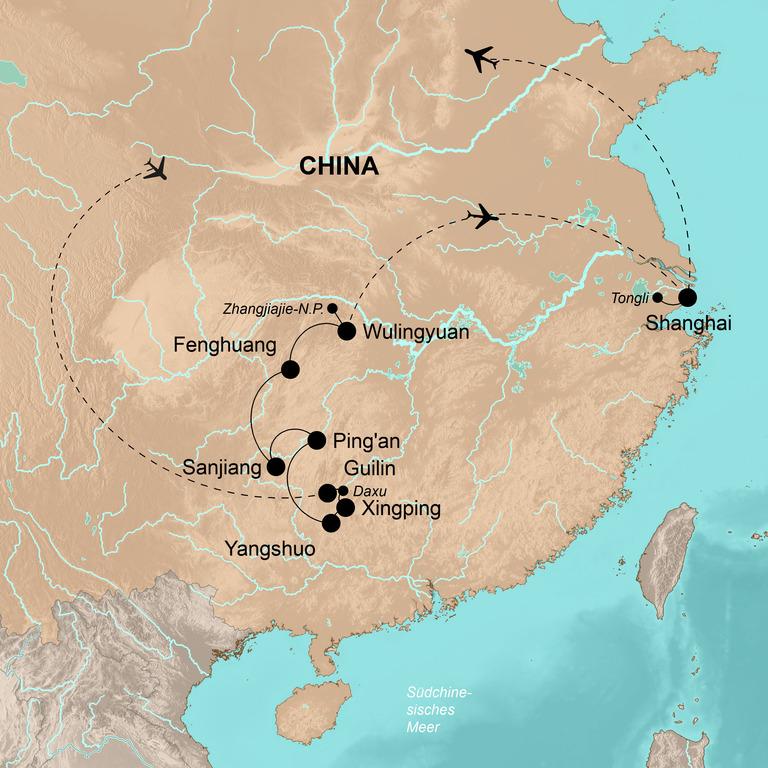 China – Traumlandschaften Südchinas