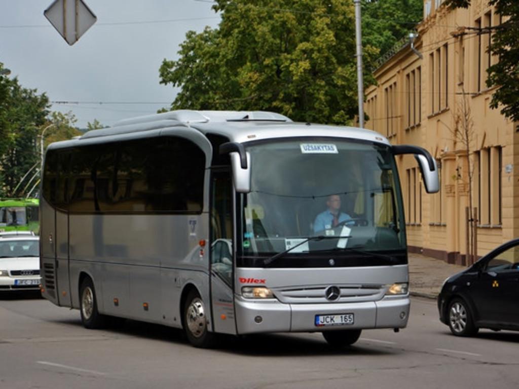 Unser Reisebus für mittlere und größere Gruppen im Baltikum