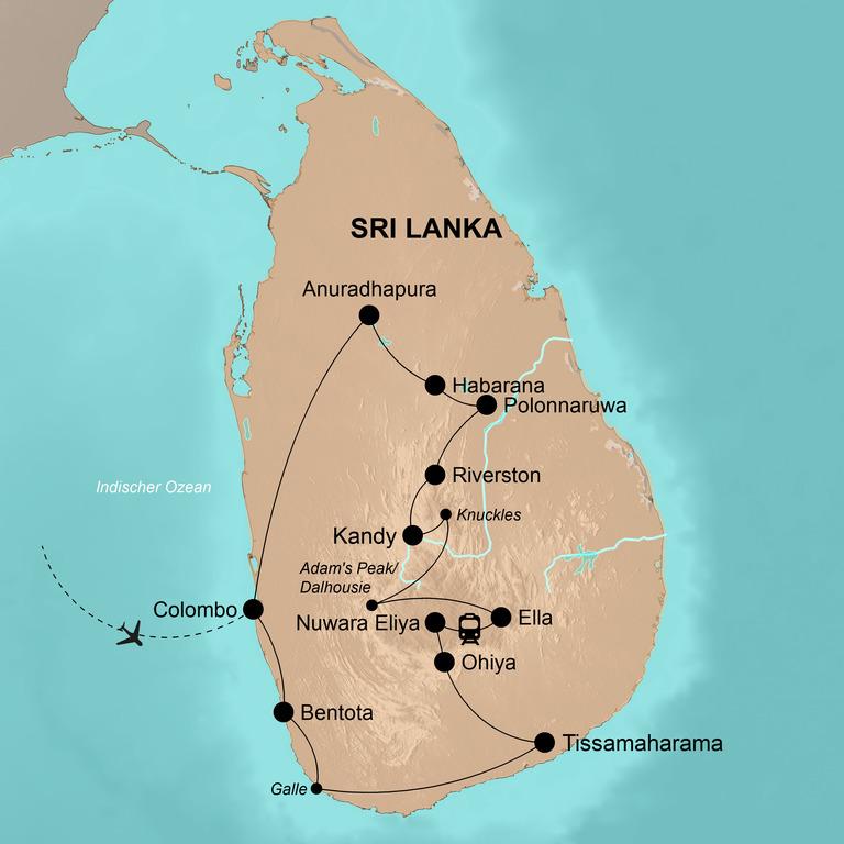 Sri Lanka – Strahlend leuchtendes Land