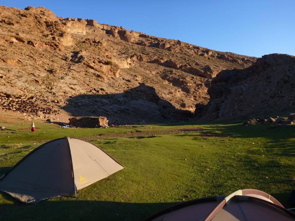 Zeltübernachtung im Hohen Atlas