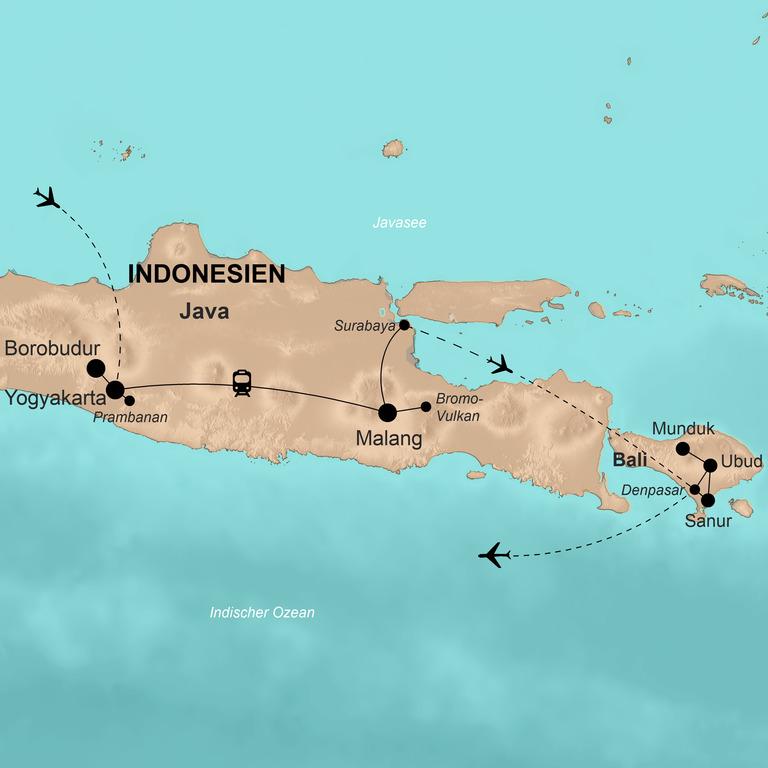 Indonesien: Sumatra, Java und Bali  – Inselreich voller Geheimnisse