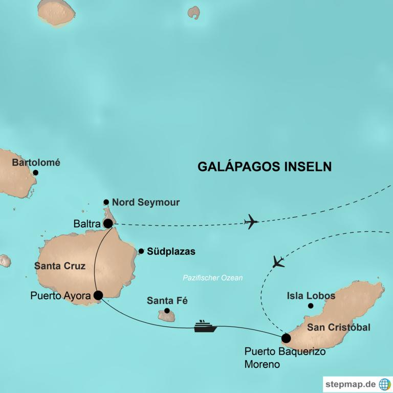 Peru und Ecuador mit Galápagos Inseln – Attraktionen im Herzen Südamerikas