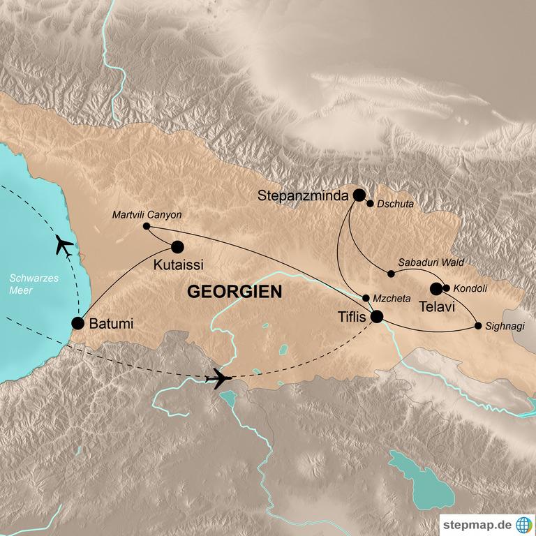 Georgien – Unterwegs auf dem Balkon Europas