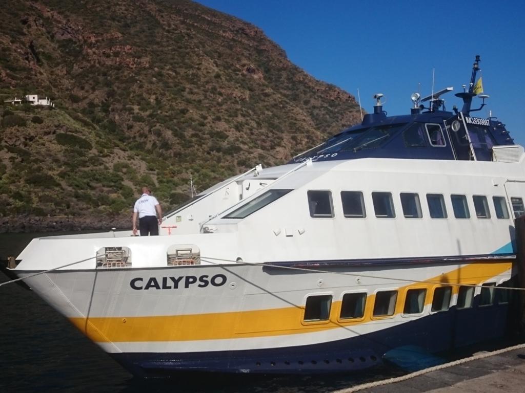 Beispielbild eines Tragflügelbootes