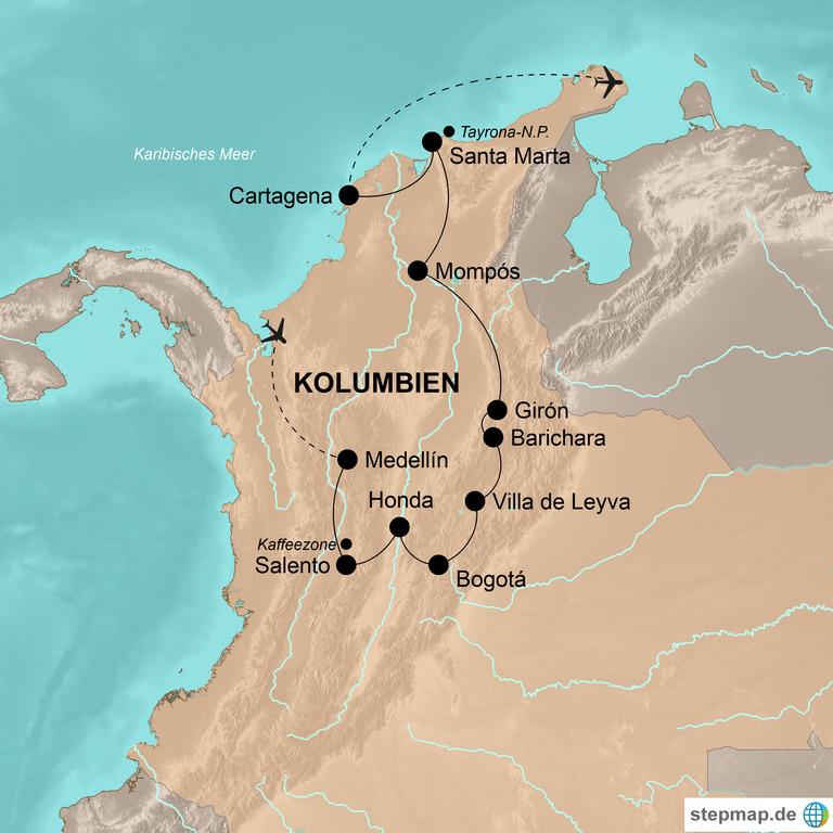 Kolumbien – Traveller-Traum an zwei Ozeanen