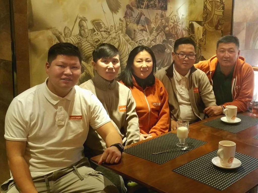 Unser Team in der Mongolei.