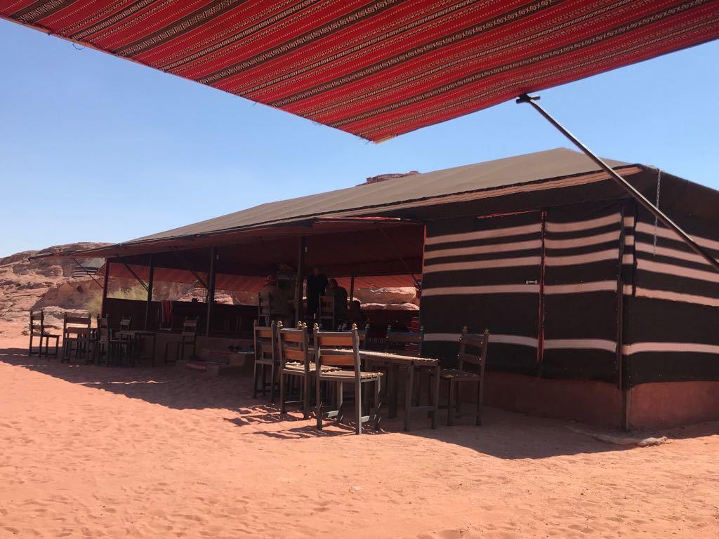 Beduinen-Camp Mohamed Mutlak   im Nationalpark Wadi Rum