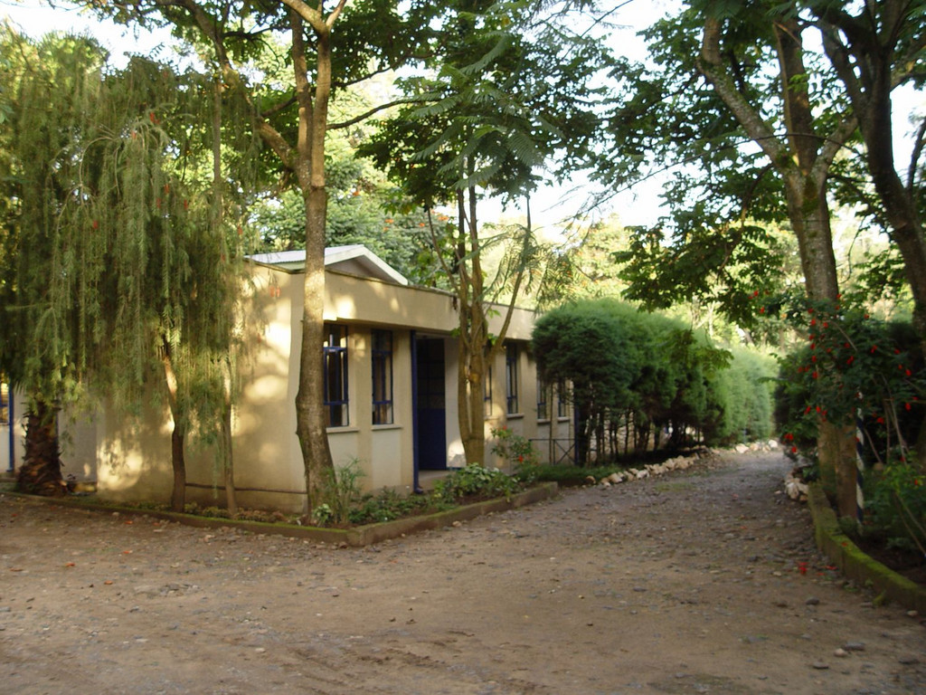 einfaches Gästehaus in Jinka