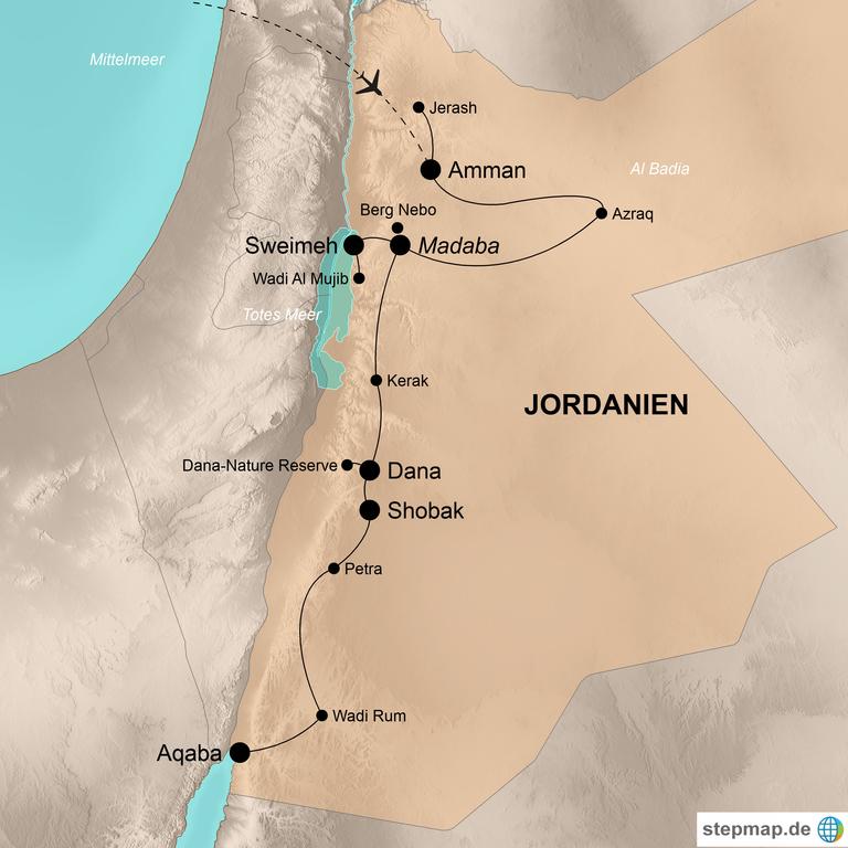Jordanien  – Im Königreich der Haschemiten