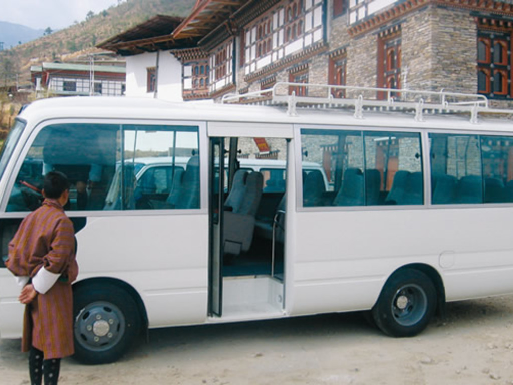 Standardbus in Bhutan