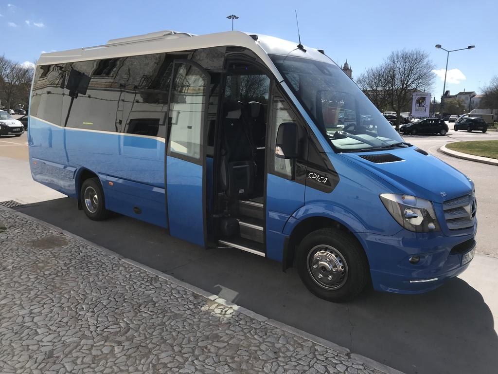 Einer unserer Minibusse in Portugal für kleinere Gruppen