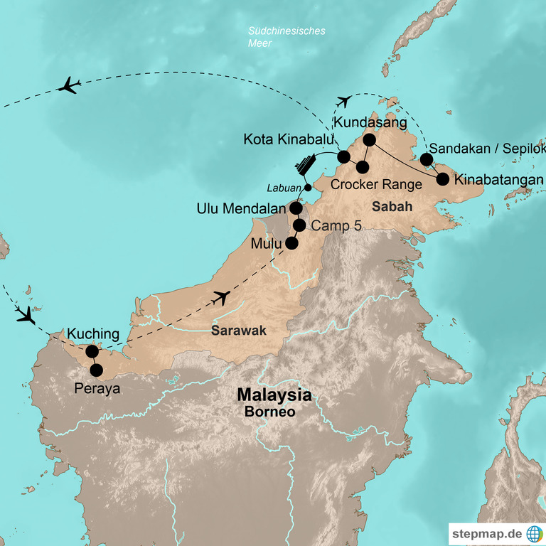 Malaysia: Sarawak und Sabah – Das ultimative Borneo-Abenteuer