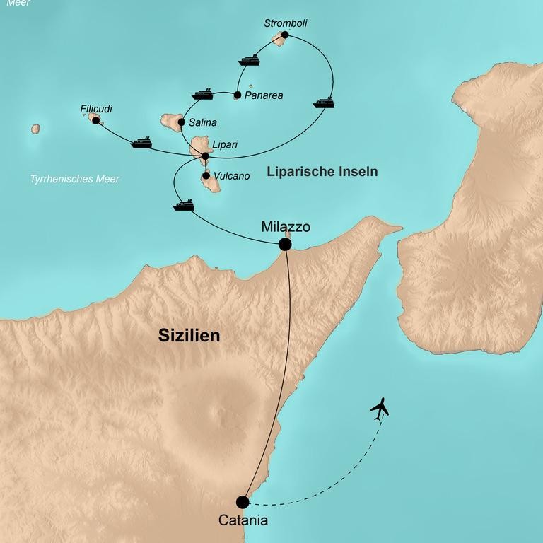 Italien: Liparische Inseln – Im Herzen von Lavaland