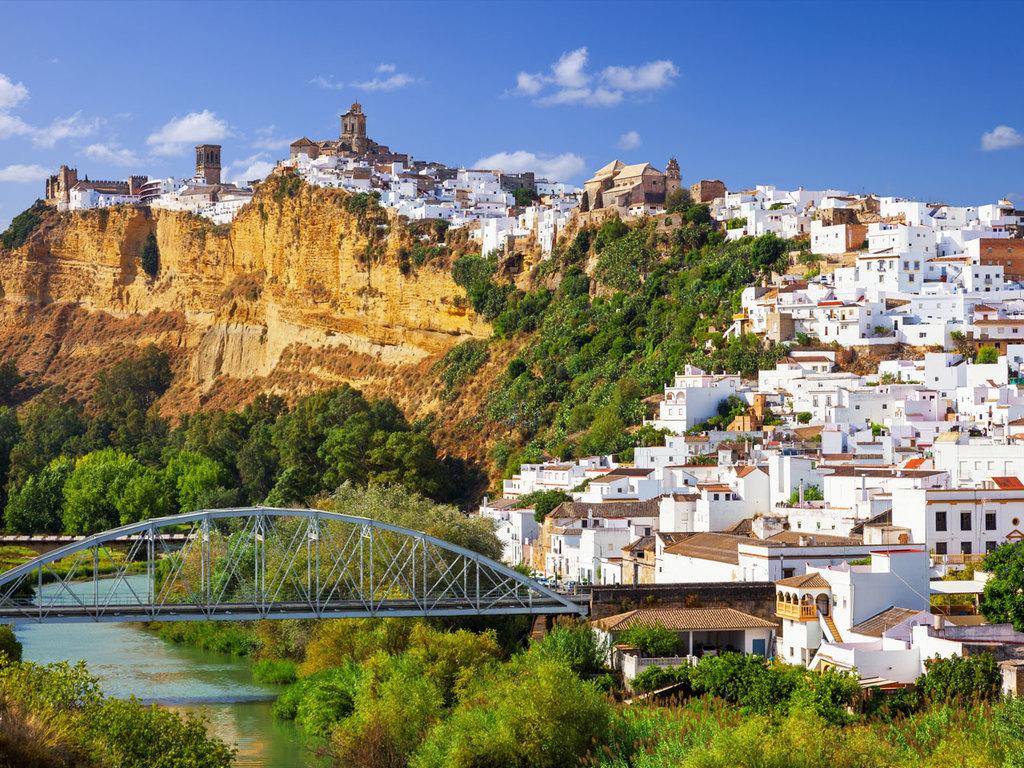 Ronda – Arcos de la Frontera – Jerez de la Frontera: Wanderung um das größte Weiße Dorf Arcos de la Frontera, Besuch einer Bodega mit Sherry-Tasting