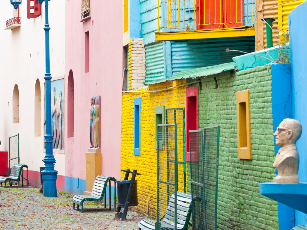 Buenos Aires : ganztägige Citytour (vormittags zu Fuß, nachmittags im Bus)