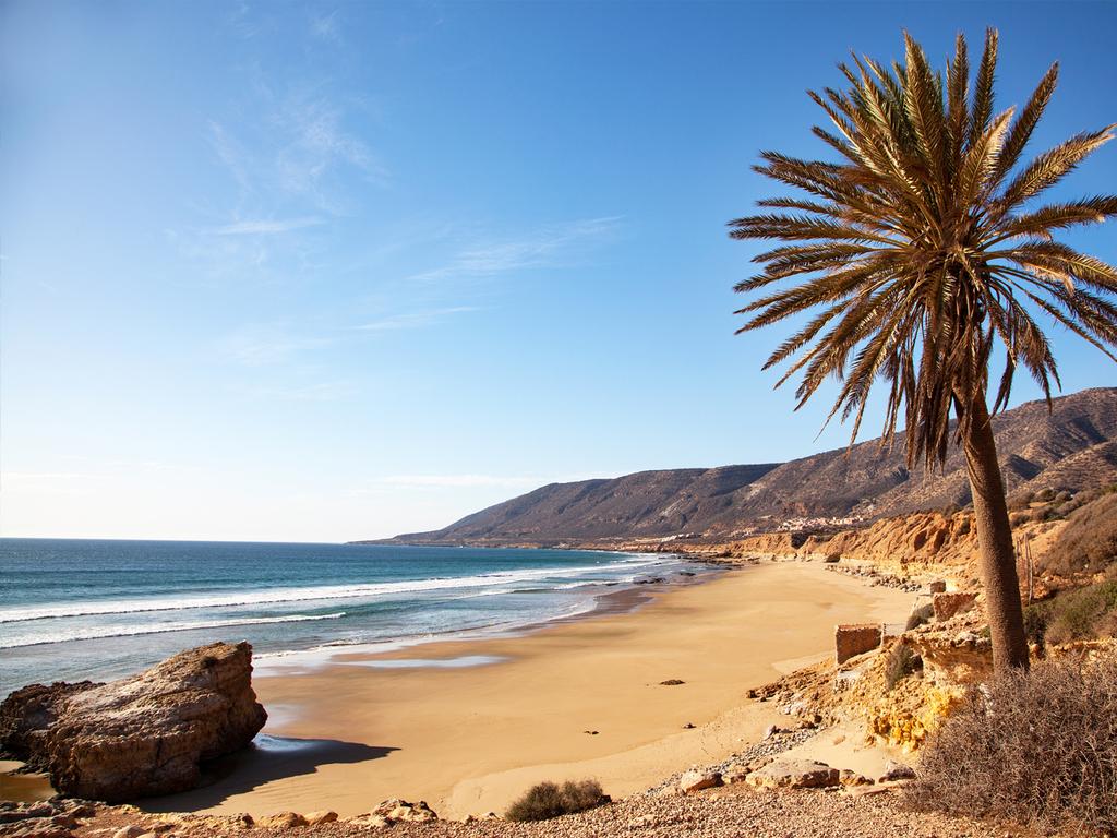 Marrakesch – Sidi Kaouki – Essaouira: Wanderung am Atlantik zum Wasserfall Sidi M'Barek