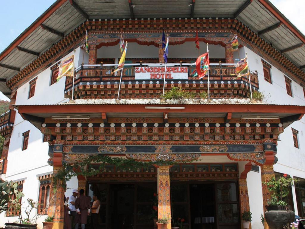 Zangtho Pelri *** in Punakha