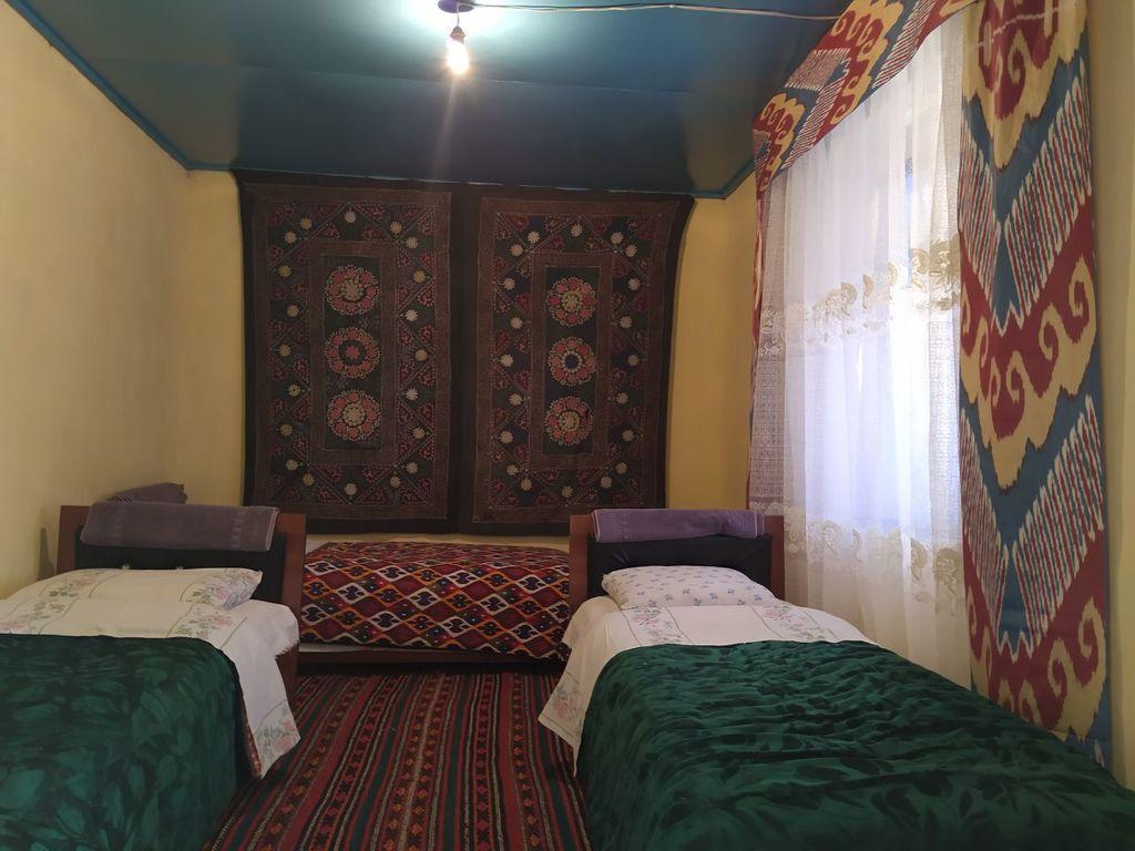 einfaches Gästehaus in Asraf