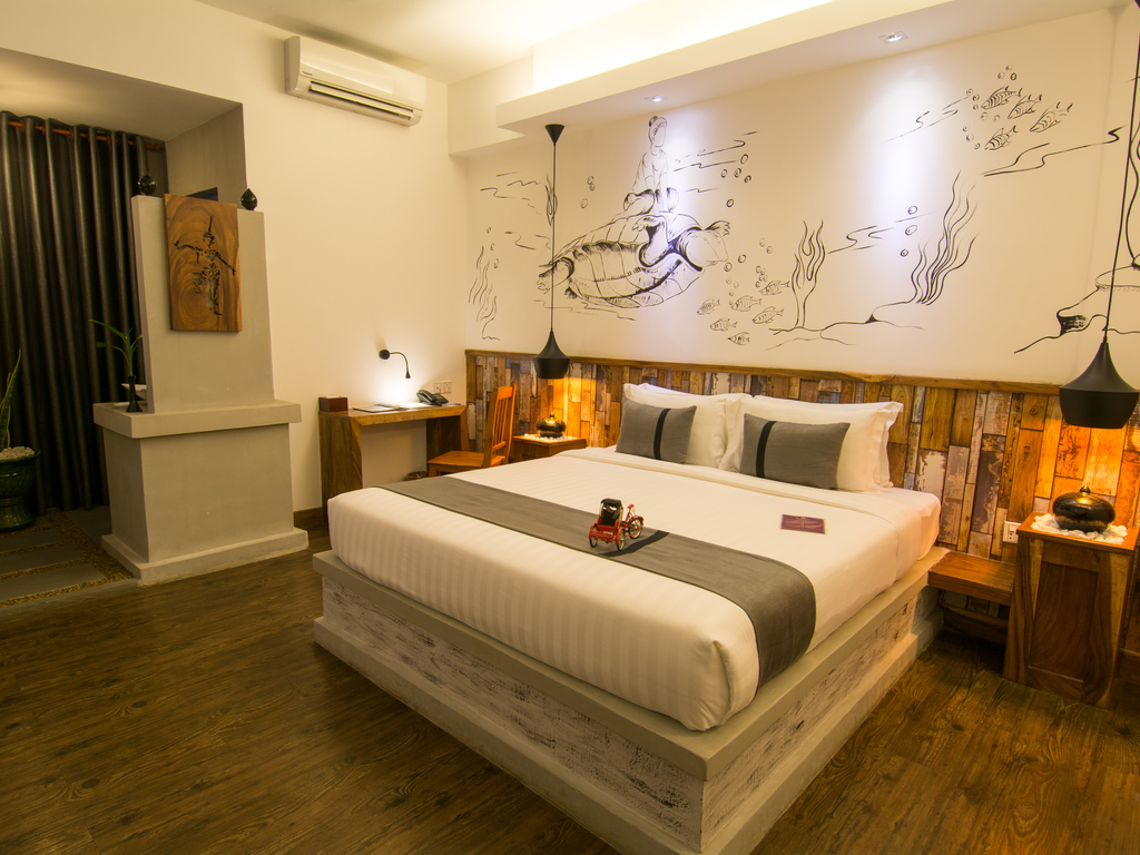 Double Leaf Boutique Hotel*** in Phnom Penh