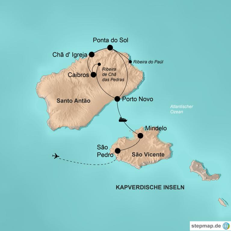 Kapverdische Inseln – Jede Insel eine kleine Welt für sich