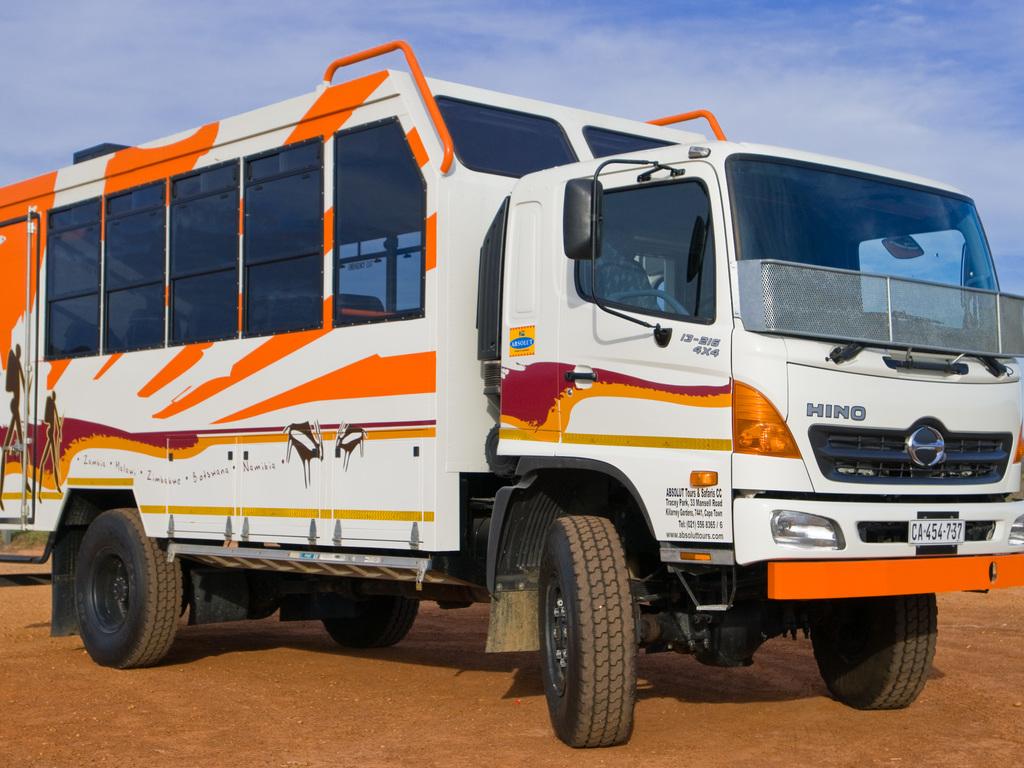 Einer unserer Overland Trucks