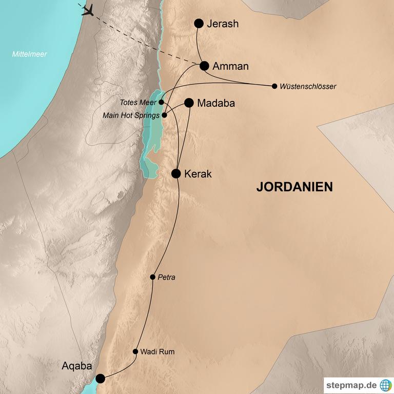 Jordanien –