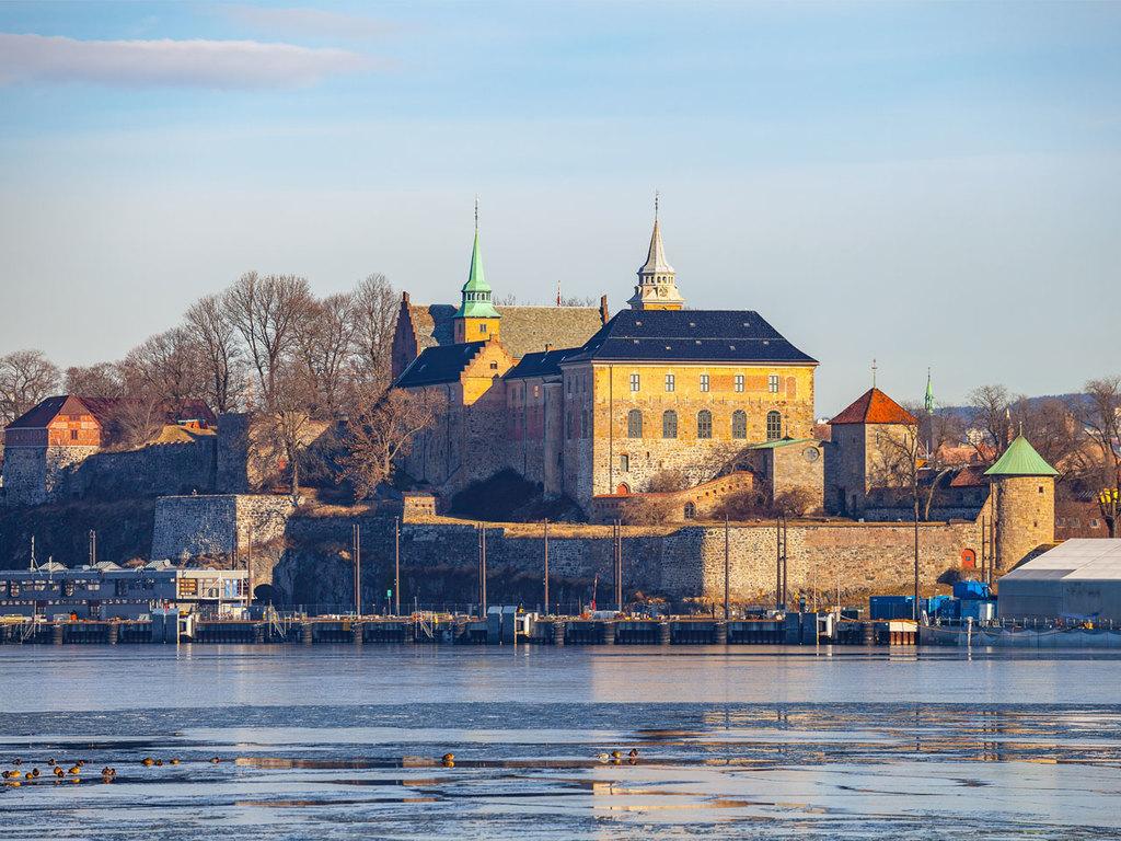 Deutschland – Oslo: Hinflug, Stadtspaziergang