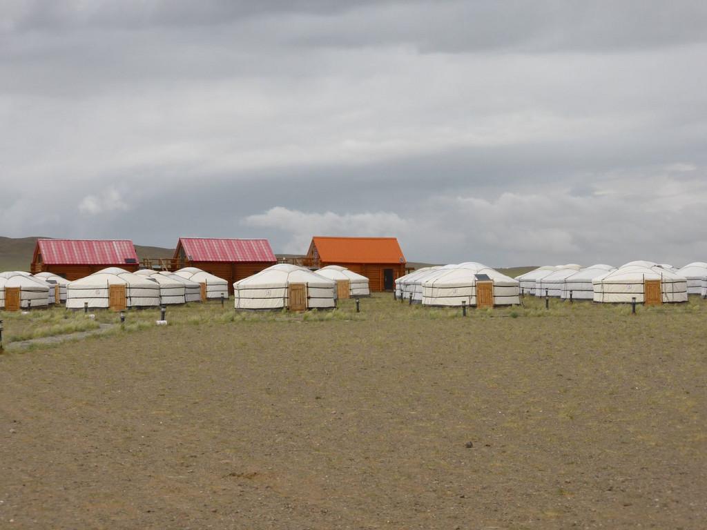 Jurten bei Khongoriin Els