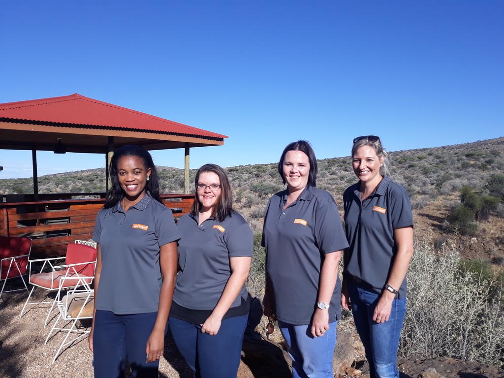 Unser Team rund um Ilze im südlichen Afrika