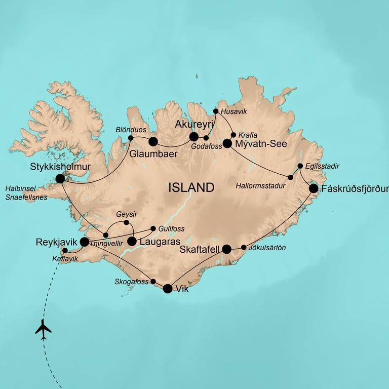 Island – Insel aus Feuer und Eis