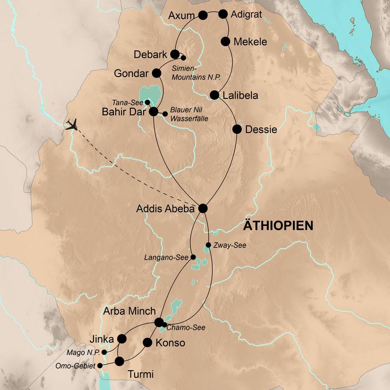 Äthiopien  – Der Schatz Afrikas