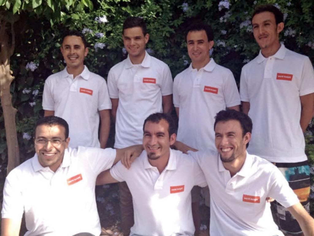 Unser Team in Marokko