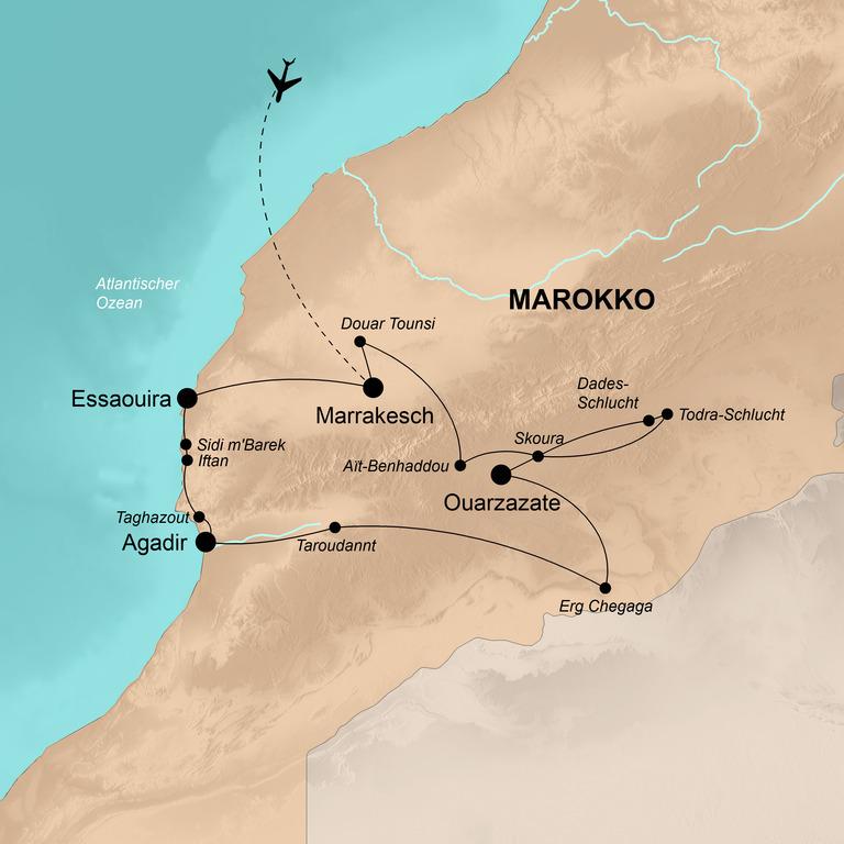Marokko – Luxus der Weite